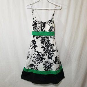 Dress Barn summer mini dress with tie back